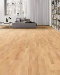 HARO PARQUET 4000 Longstrip Beech Steamed Trend naturaDur 535419 Engineered Flooring