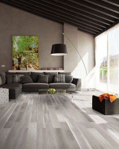Explora Engineered Oak Silver Matt Lacquered 4V Bevelled 130mm 5G Click BF41 Engineered Flooring
