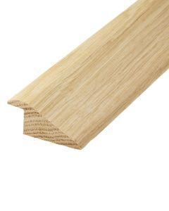Solid Oak Ramp Profile (15mm Rebate)
