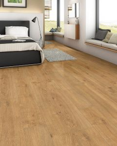 HARO Cork floor CORKETT Arteo XL Oak Portland Naturell brushed permaDur finish 537265 Cork Flooring
