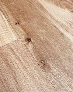 Explora 14mm Oak Rustic Plank 180mm Wide 2V Clear Matt Oiled Engineered Oak Flooring