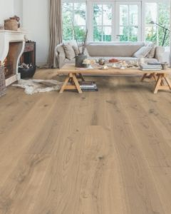 Quick-Step Parquet Massimo Cappuccino Blonde Oak Extra Matt MAS3566S Engineered Wood Flooring