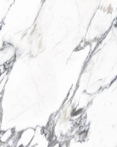 Bushboard Nuance Acrylic Carrara Marble Slab