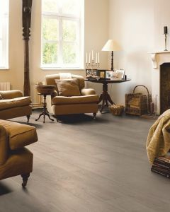 Quick-Step Classic Bleached White Oak Planks CLM1291 8mm AC4 Laminate Flooring