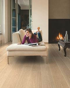 Quick-Step Largo White Varnished Oak LPU1283 9mm AC4 Laminate Flooring