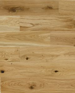 Explora Engineered Oak Lacquered 4V Bevelled 130mm 5G Click BF10 Engineered Flooring