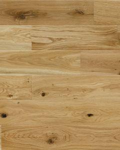 Basix Engineered Click Narrow Oak Lacquered 4V Bevelled 130mm 5G Click BF10 Engineered Wood Flooring