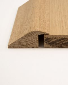 Explora Solid Oak Rebated R Section (15mm Rebate) 2.7m Length Unfinished