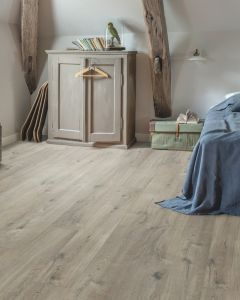 Quick-Step Livyn Pulse Click Plus Cotton Oak Grey With Saw Cuts PUCP40106 Luxury Vinyl Flooring