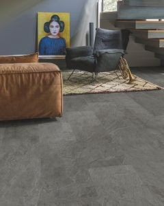 Quick-Step Livyn Ambient Click Plus Grey Slate AMCP40034 Luxury Vinyl Flooring