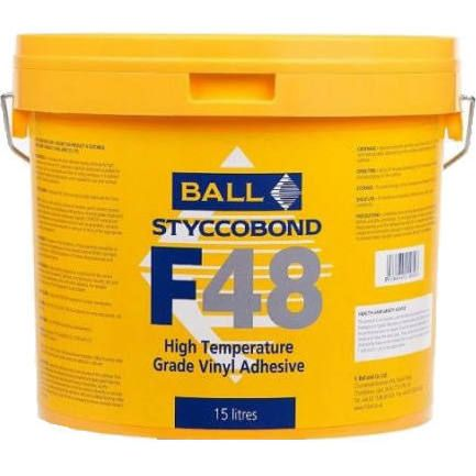 F BALL STYCCOBOND F48 - 15L High Temperature Grade Vinyl Adhesive