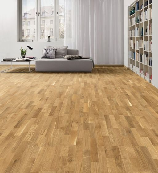 HARO PARQUET 4000 Longstrip Oak Favorit brushed permaDur 538928 Engineered Flooring