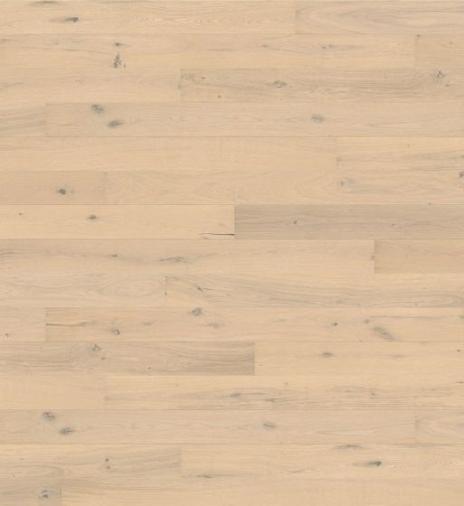 HARO PARQUET 4000 Plank 1-Strip 4V Oak Sand White Sauvage brushed naturaLin plus Top Connect 538937 Engineered Flooring