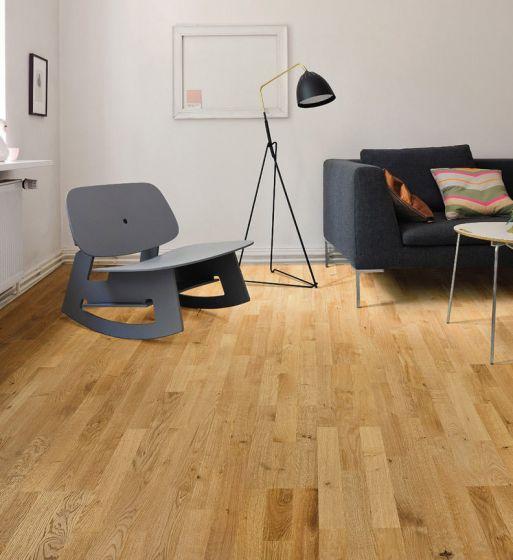 HARO PARQUET 4000 Longstrip Oak Terra Brushed naturaLin plus 530137 Engineered Flooring