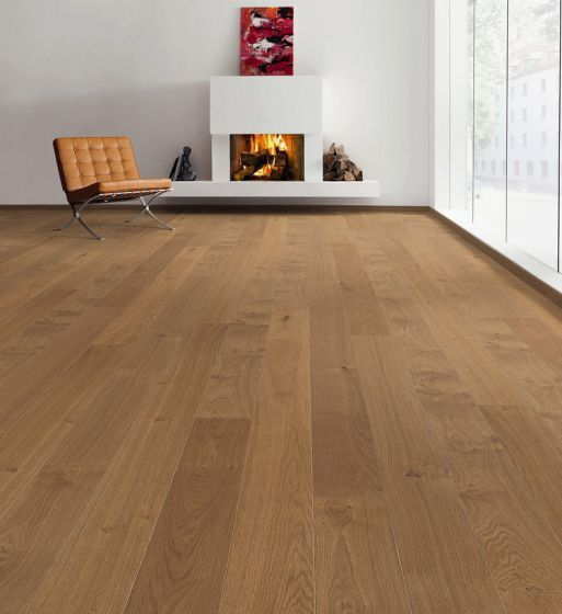 HARO PARQUET 4000 Plank 1-Strip 4V Smoked Oak Markant Brushed 528678 Engineered Flooring