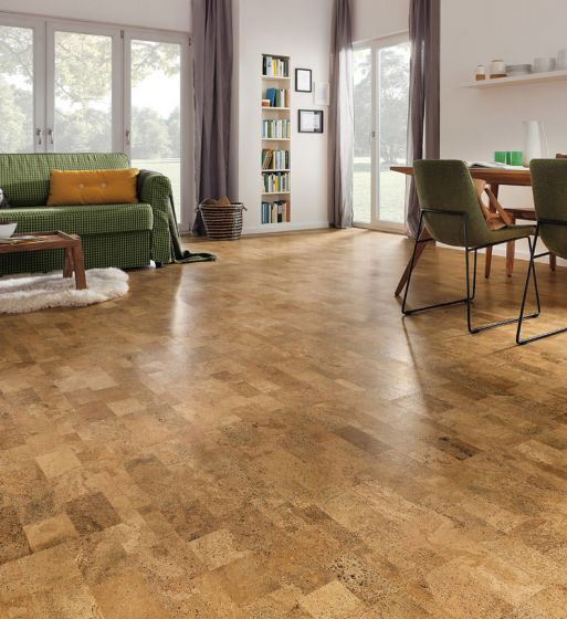 HARO Cork floor CORKETT Ronda Nature permaDur finish 527381 Cork Flooring