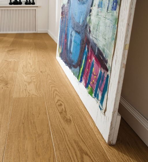 HARO PARQUET 4000 Plank 1-Strip Oak Markant permaDur 524558 Engineered Flooring