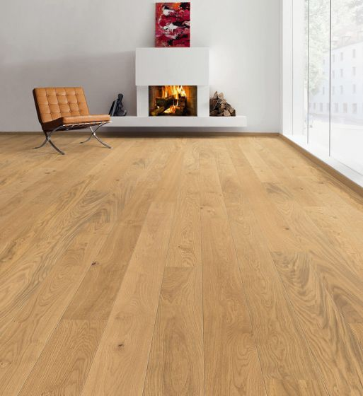 HARO PARQUET 4000 Plank 1-Strip 2V Oak Markant Brushed permaDur 524577 Engineered Flooring