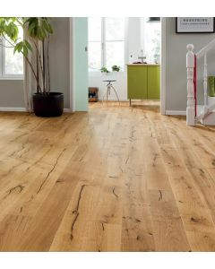 HARO PARQUET 4000 1750mm Plank 1-Strip 180 4V Oak Alabama brushed naturaLin plus Top Connect 537333