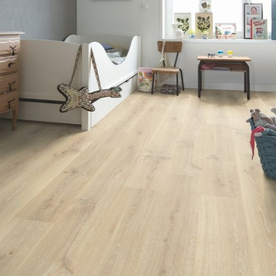 Quick-Step Creo Tennessee Oak Light Wood CR3179 7mm AC4 Laminate Flooring