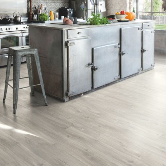 Quick-Step Livyn Balance Click Plus Canyon Oak Grey With Saw Cuts BACP40030 Luxury Vinyl Flooring