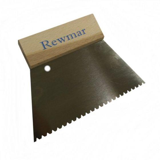 Rewmar 3mm V Notch Trowel (B3)