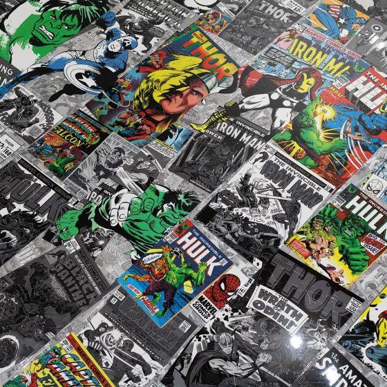 Marvel Comic Book High Gloss Laminate Flooring 8mm AC4