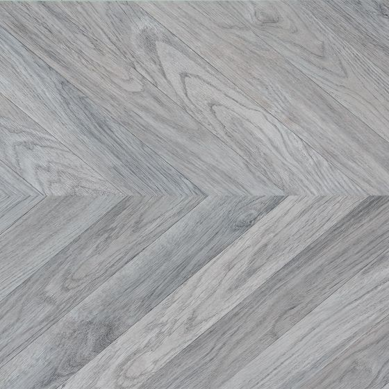 FAUS Masterpieces Chevron Grey Oak S174221 8mm AC6 Laminate Flooring
