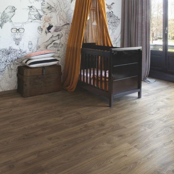 Quick-Step Livyn Balance Click Cottage Oak Dark Brown BACL40027 Luxury Vinyl Flooring