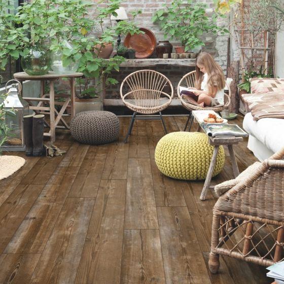 Quick-Step Livyn Pulse Click Plus Sundown Pine PUCP40075 Luxury Vinyl Flooring