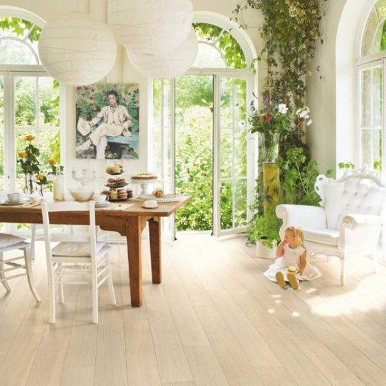 Quick-Step Parquet Palazzo Polar Oak Matt PAL1340S Engineered Wood Flooring