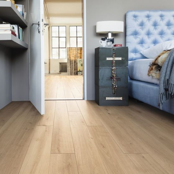 HARO Laminate Floor TRITTY 90 Plank 1-Strip 4V Oak Melina Puro Soft Matt 535238