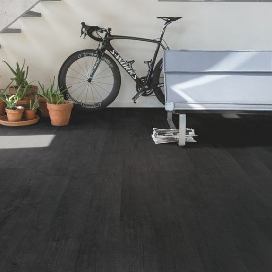 Quick-Step Impressive Ultra IMU1862 Burned Planks 12mm AC5 Laminate Flooring