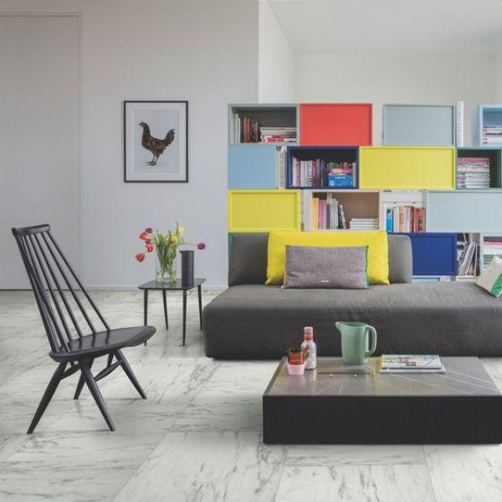 Quick-Step Arte Marble Carrara UF1400 9.5mm AC4 Laminate Flooring