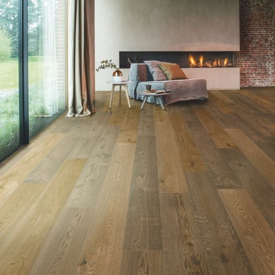 Balterio Grande Wide 64094 Bourbon Oak 9mm AC4 Laminate Flooring