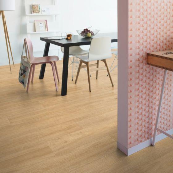 Quick-Step Livyn Balance Glue Plus Silk Oak Warm Natural BAGP40130 Luxury Vinyl Flooring
