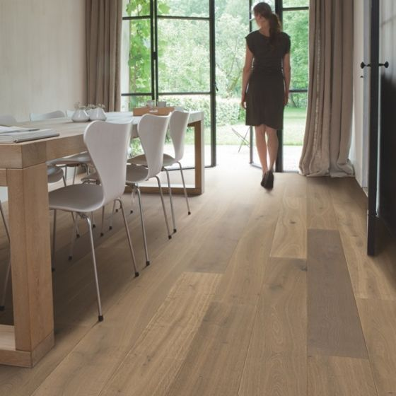 Quick-Step Parquet Palazzo Latte Oak Oiled PAL3885S Engineered Wood Flooring