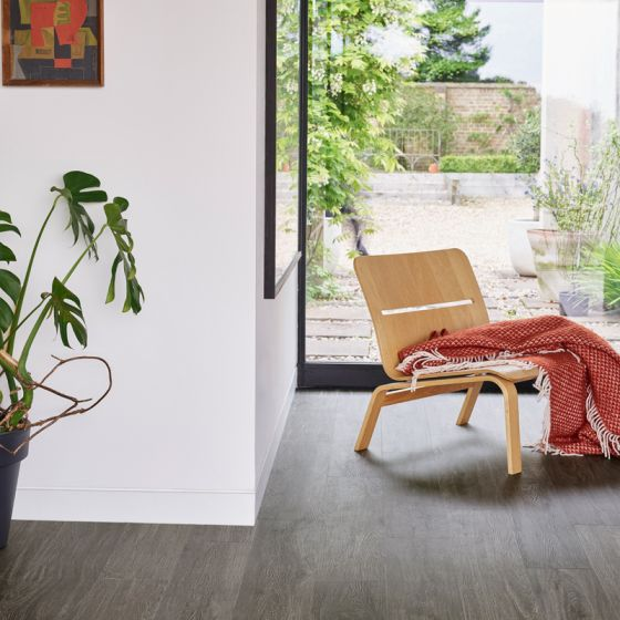 LG Hausys Harmony Charred Limed Oak 3266 Luxury Vinyl Tile Flooring
