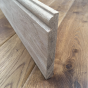 Explora Solid Oak Reversable Skirting Board Torus / Bullnose Unfinished 20 x120 x 3000mm