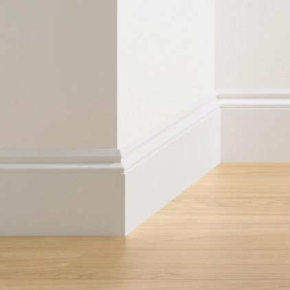 Quick-Step Ogee Skirting Board (2400 x 16 x 160mm)
